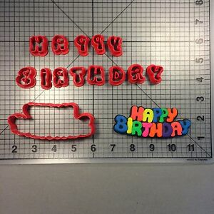 Happy Birthday Jelly 100 Cookie Cutter Set