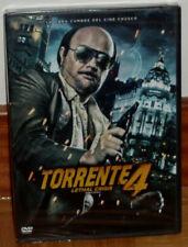 Torrent 4 Lethal Crisis Dvd New Sealed Cinema Spanish Action (Sleeveless Open)