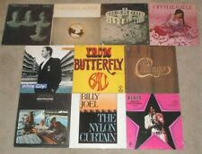 10 Lp Record Pop Rock Album Lot Billy Joel Iron Butterfly Pete Townshend Elvis