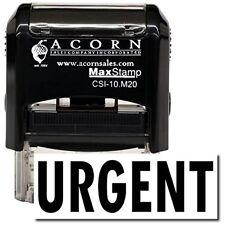 MaxStamp - Self-Inking Urgent Stamp (Black Ink)