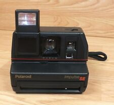 Genuine Vintage Polaroid Impulse SE Instant Film Camera With Strap! **READ**