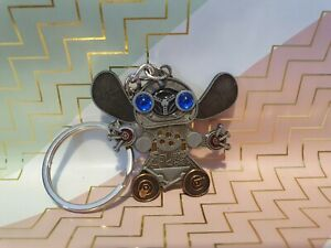 Disney World WDW Keyring - Stitch Robot Key Chain BNWOT