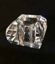 Replacement CUBE Shape Clear Glass crystal style Lamp Shade G9 Light Fitting H21