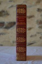 Oeuvres choisies de Gresset - Janet & Cotelle 1823. Simier Relieur.