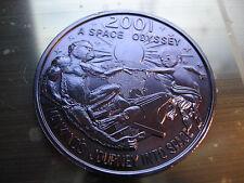 2001 space odyssey alien sun shuttle Mardi Gras Doubloon Coin dark purple