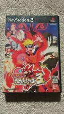 Naruto: Narutimate Hero 3 - Sony PlayStation 2 [NTSC-J] - Complete