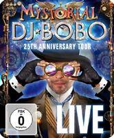 DJ BOBO - MYSTORIAL-LIVE   BLU-RAY NEU