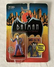JOKER Batman Animated Series Die Cast Figure + Sticker Original Pack #2471 7HAO