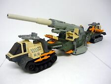 "GI JOE THUNDERCLAP Vintage 34"" Action Figure Vehicle Tank 99% COMPLETE 1989"