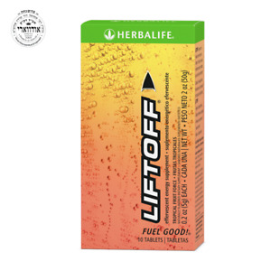 Herbalife Liftoff®: Tropical Fruit Force 30 Tablets (3) 10 tablet -Unopened Box