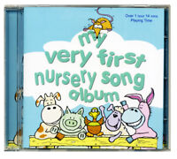 NURSERY SONGS for children.  Kids nursery rhyme CD  NEW & WRAPPED from publisher