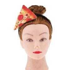 Funny Pizza Headband Fast Food Headpiece Party Tricky Joker Cosplay Hairband