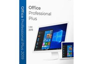 MS Office 2019 Pro Plus - 1PC Genuine License plus Bonus disk!