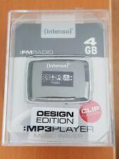 Intenso MP3 Player 4GB, Clip, FM Radio, Design Edition  ***TOP***
