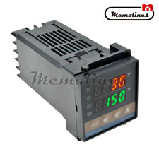 100 240v Pid Temperature Controller Rex C100 0 400c K Type Input Ssr Output