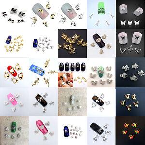 5 x Nail Art Charms Nail Design Decoration Manicure, Design Choice, UK Seller