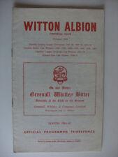 Away Teams S-Z Wrexham Non-League Football Programmes