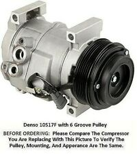Chevrolet  GMC  1500 2500 3500  4.3L and 6.6L  OEM Denso 10S17F AC Compressor
