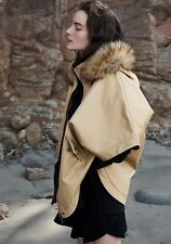 Country Road S M L CR Love Hooded Cape in Honey - Jacket 10 12 14 S