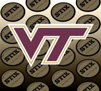 Virginia Tech Hokies Logo NCAA Die Cut Vinyl Sticker Car Window Bumper Decal