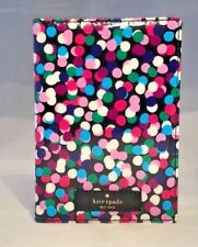 New Kate Spade Daycation Dance Party Dots Passport Holder Case Wallet Colorful
