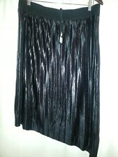Additions Plus Size Elle Lined Ribbed Angle Skirt Size 2xl 20