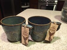 NWT 2 Starbucks Anniversary Collection Mermaid Siren Mug 2014 Ocean Tail 12oz