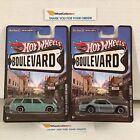 2 Car JDM Set * '71 Bluebird 510 Wagon & Nissan Skyline * Boulevard Hot Wheels