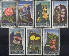 San Marino 1967 Flowers/Nature/Plants/Thistle/Poppy/Castle/Buildings 7v (n43565)