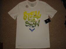 NWT Nike Nadal Court Rafa 2015 Steal The Show Tennis Tee T-Shirt 828052-101 M XL