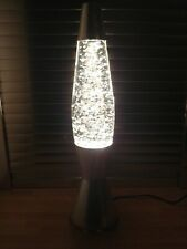 Vintage Mathmos Astro Silver Glitter Baby Lava Lamp