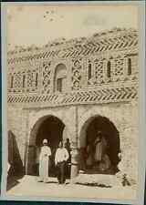Tunisie, Maison du Caïd de Tozeur  Vintage citrate print.  Tirage citrate  8