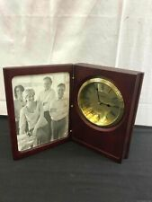 """Danbury """"Things Remembered�Clock & Picture Frame"""