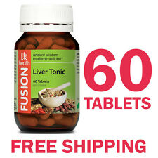 Fusion Health Liver Tonic 60 Tablets - Fusion Liver Tonic 60 Tablets