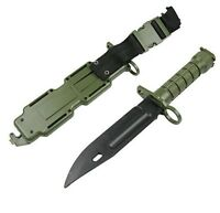 FINTO COLTELLO DA CACCIA SOFTAIR M9 AIRSOFT TACTICAL DUMMY KNIFE OD- cod 3069