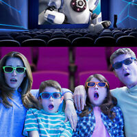 Kids circular polarized passive 3D glasses for real 3D tv cinema movie   wr