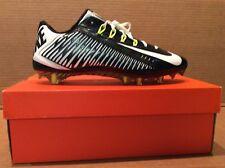 Nike Vapor Carbon Elite 2014 TD Football Cleats Sz 14 Black / White