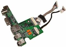 Genuine HP Pavillion DV4000 VGA / USB / Audio Board w/ Cable P/N 384625-001