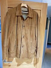 Top Quality Mens Suede Jacket by STRELLSON   (Hugo Boss )Large/ XL