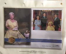 HM QUEEN ELIZABETH QUEEN MOTHER 100th BIRTHDAY GOLD SOVEREIGN Number 456 Of 2000