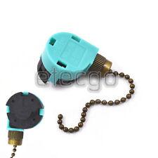 Zing Ear ZE-268S6 & ZE-208S6 Pull Chain Switch 3 Speed Antique Brass USPS servic