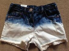 BNWT NEXT Distressed Denim Dip Dye Shorts 5 Years