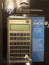 New Hp 30b Calculator Business Professional Financial Calculator