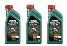 3x CASTROL MAGNATEC STOP AND START 5W30 A5 1L TALBOT