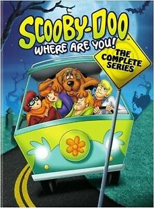 Scooby Doo Where Are You! Complete Series 1-3 +All Stars DVD Box Set Region 4 R4
