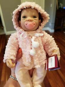 "Reborn Ashton Drake Doll Tiny Martha Viola Linda Webb Real Touch 10"" NWT Baby"