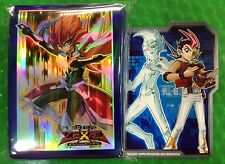 YuGiOh Card Sleeve ZEXAL YUMA with YUMA divider