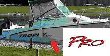 Bayliner Trophy Pro boat sickers 260mm better than original 7 yr vinyl fishing