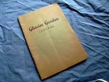 1929/30 Lucerne Switzerland GLACIER GARDEN Guide Book