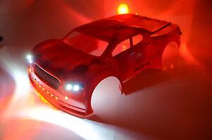 RC LED Light KIT for Traxxas Slash Scalpel body 0240.  #33